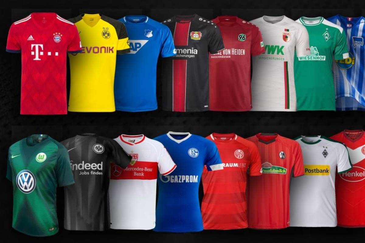 brand new 8d9ce be8a6 Bundesliga-Trikots: Nur die Bayern haben Adidas noch als ...