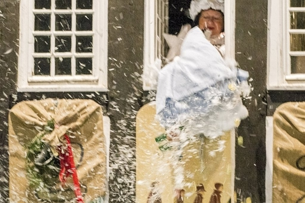 Fenster Hattingen frau holle lüftet fenster geheimnis waz de hattingen