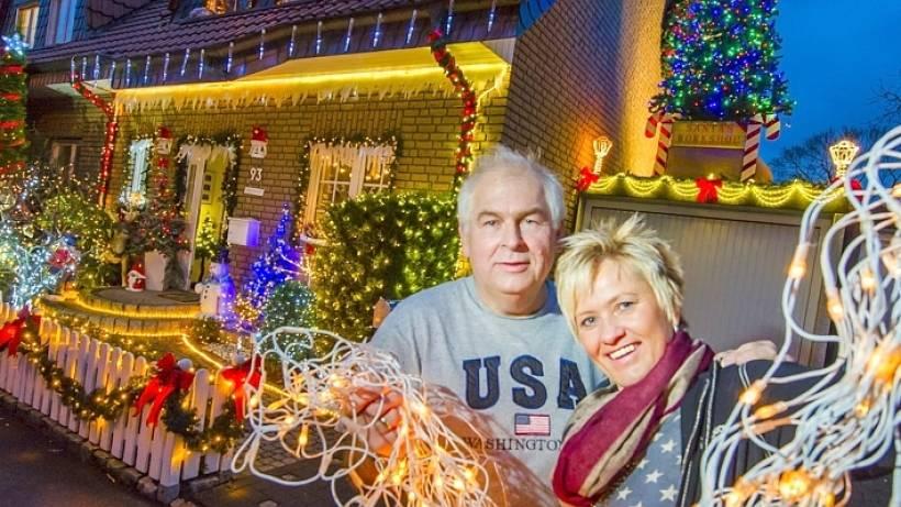 Weihnachten wie in den USA - Lichterzauber an Heringstraße | waz de
