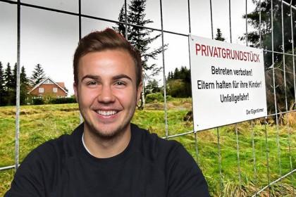 Bvb Neuzugang Gotze Baut Nach Arger Haus In Dortmund Waz De