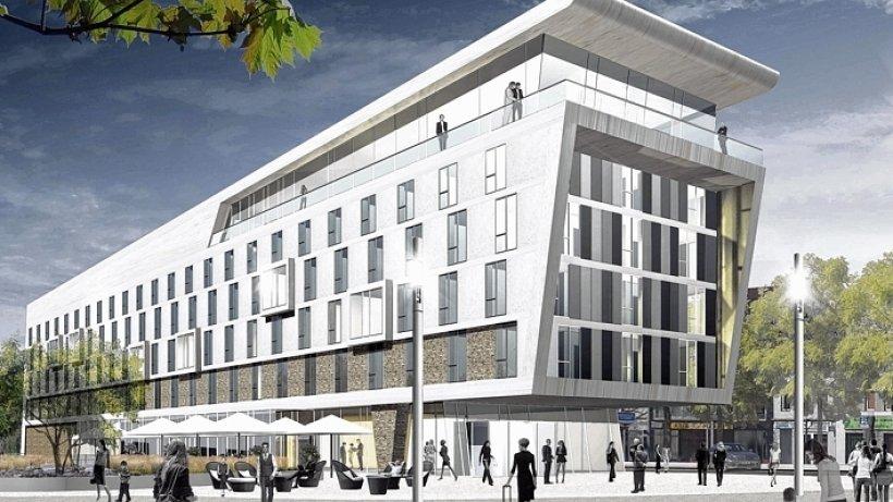 neues intercity hotel am duisburger hauptbahnhof nachrichten aus duisburg der stadt an rhein. Black Bedroom Furniture Sets. Home Design Ideas