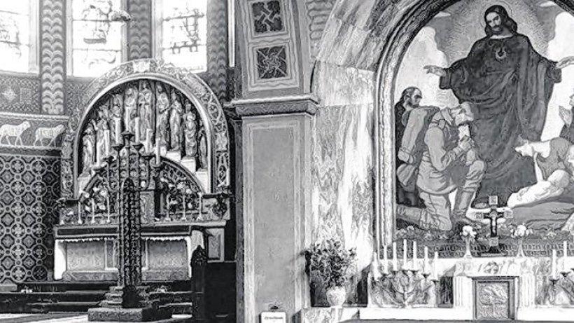 kirchweihe von st michael in bottrop mitten im 1. Black Bedroom Furniture Sets. Home Design Ideas