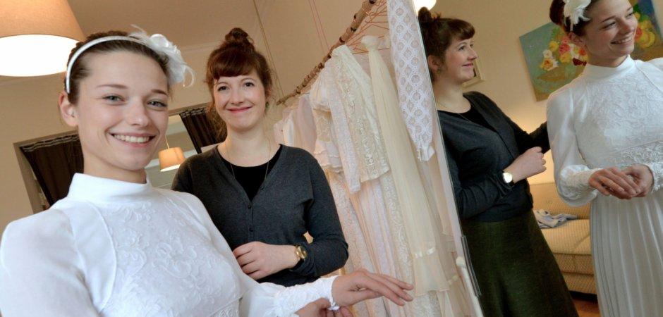 """Bei """"Vererbt"""" erzählen gebrauchte Brautkleider Liebesgeschichten ..."""