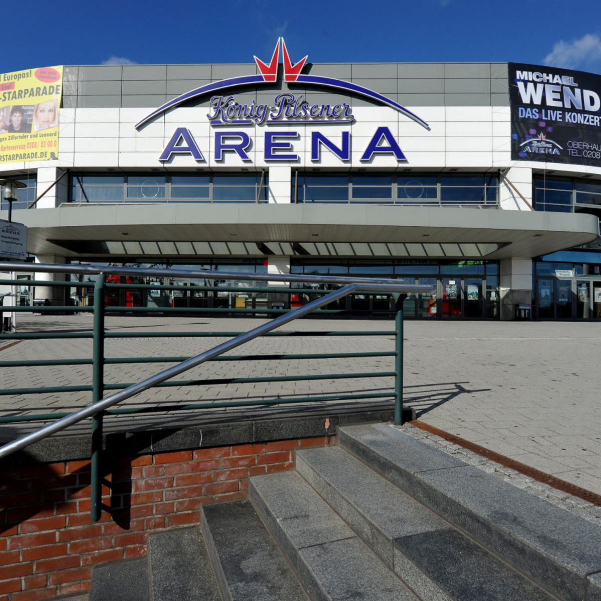 Sitzplätze oberhausen arena Vor deiner