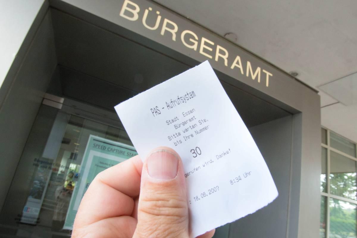 Bürgeramt In Essen Soll Bürger Weggeschickt Haben Wazde Essen