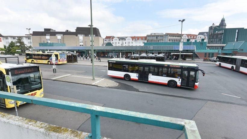 zentraler omnibusbahnhof in gelsenkirchen ist ein. Black Bedroom Furniture Sets. Home Design Ideas
