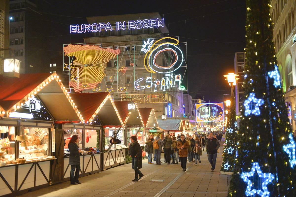 Essen Weihnachtsmarkt.Weihnachtsmarkt Essen Das Sagt Die Emg Zum Besucherruckgang