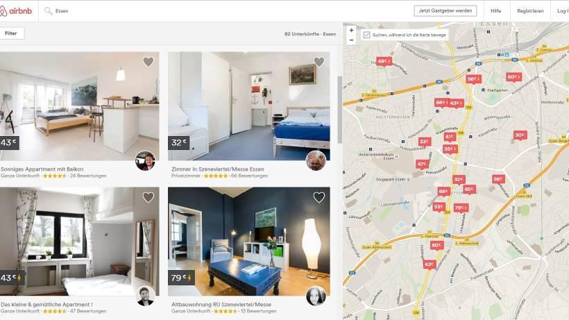 Airbnb Wächst Auch Im Ruhrgebiet Rasant Kritik Am Modell Wazde