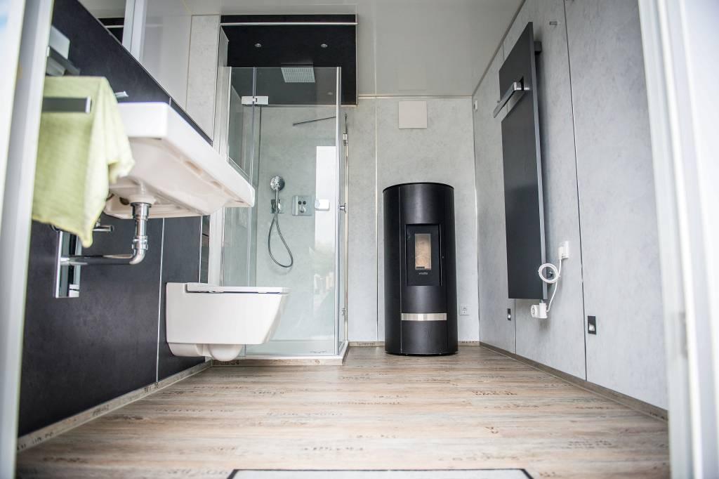 Ein Badezimmer im Anhänger | waz.de | Oberhausen