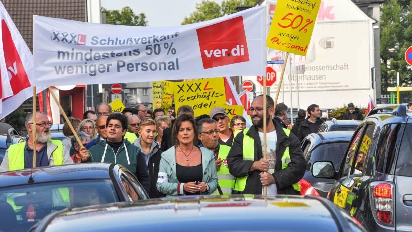 Schwere Vorwurfe Gegen Mobelriese Xxxl In Oberhausen