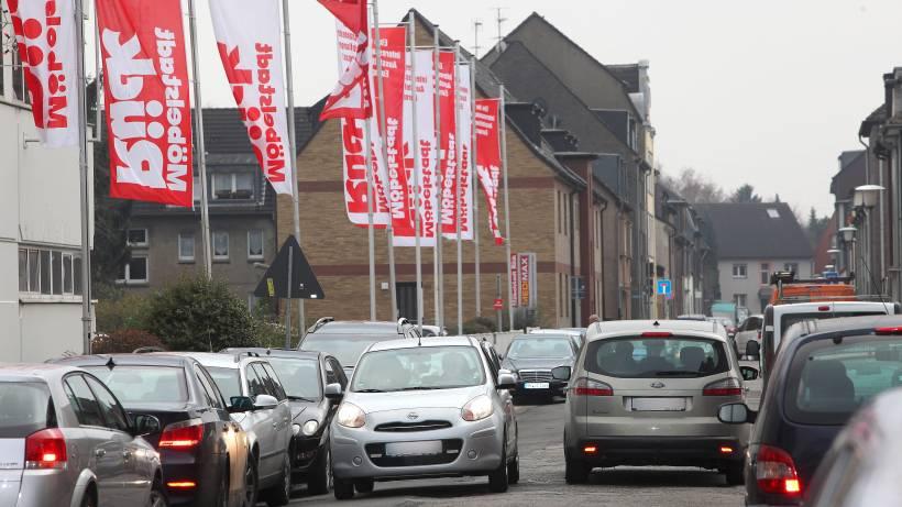 Grunes Licht Fur Bau Von Xxxl Ruck Haus Am Centro Oberhausen Waz