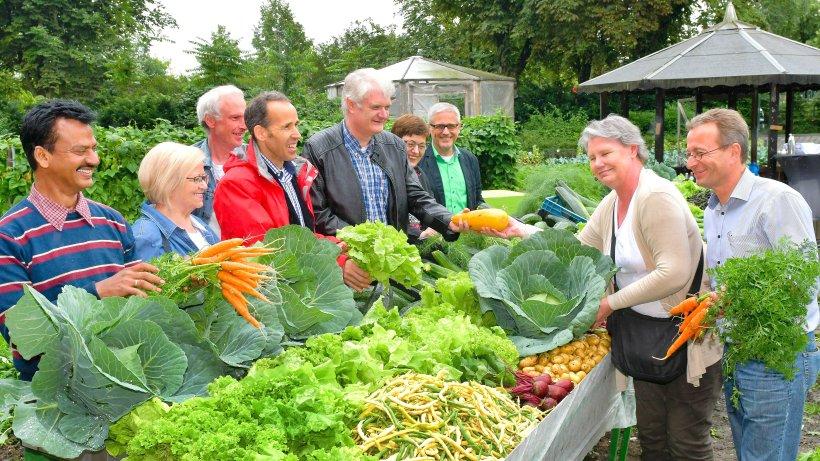 In Gelsenkirchens Gafög-Garten sprießt Gemüse für die