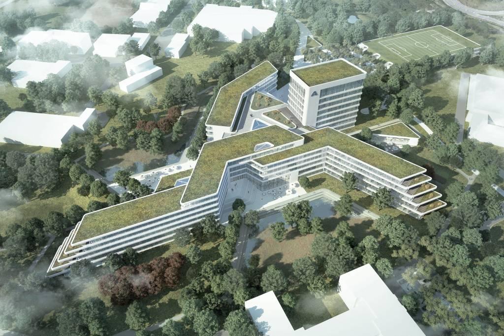 So Soll Der Neue Aldi Nord Campus In Essen Kray Aussehen Wazde