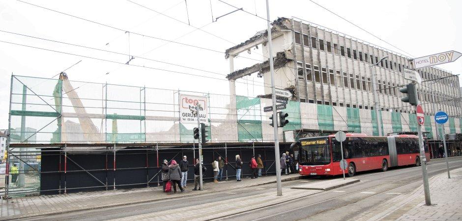 Kaufhof-Abriss auf der Zielgeraden | Mülheim