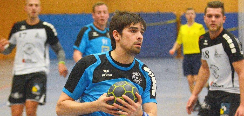 Tobias Wissing war mit zehn Treffern bester Schütze des TV Gladbeck in Beckhausen.