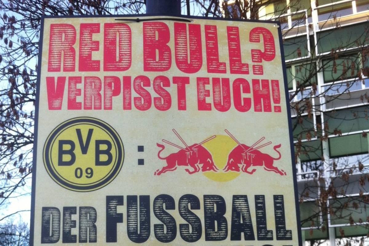 Polizei Hängt Anti Rb Leipzig Plakate Der Bvb Fans Ab Waz