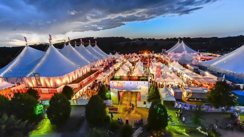Zeltfestival Ruhr 2017 wird von der Band Placebo eröffnet