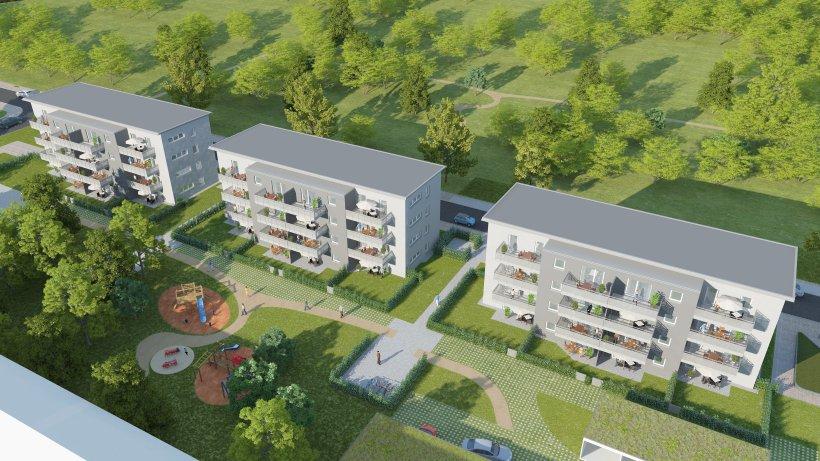 vogelheim allbau baut im stakenholt 48 wohnungen borbeck und west. Black Bedroom Furniture Sets. Home Design Ideas