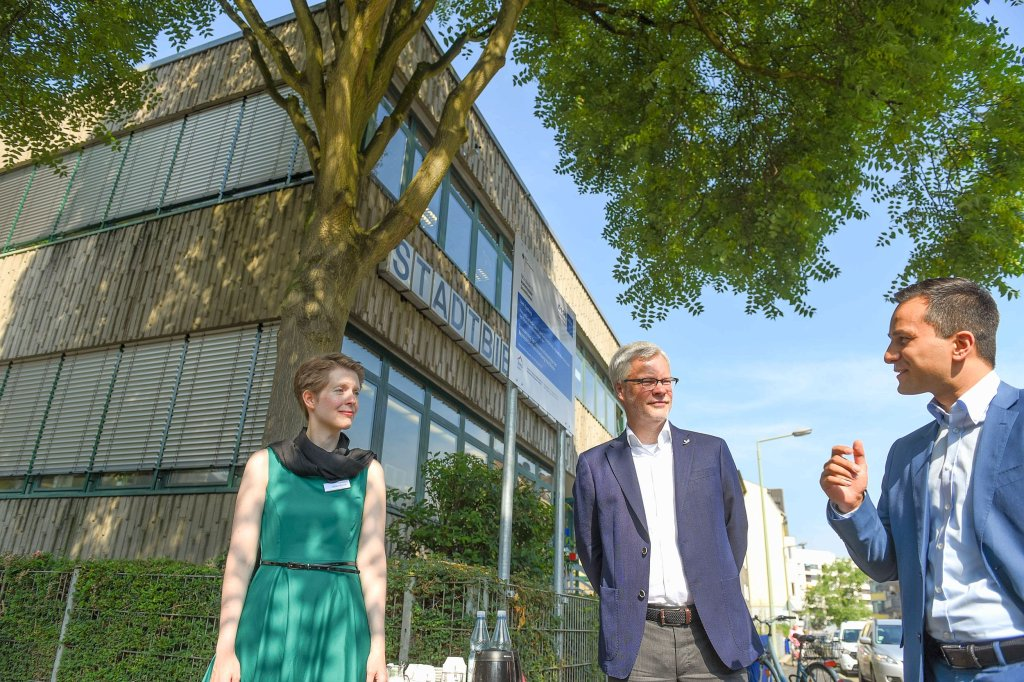 Jalousien Duisburg neue jalousien für die bezirksbibliothek waz de
