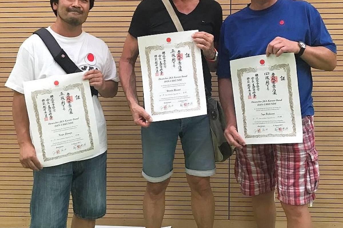 Trio Des Karate Do Gladbeck Beim Gasshuku Erfolgreich Waz