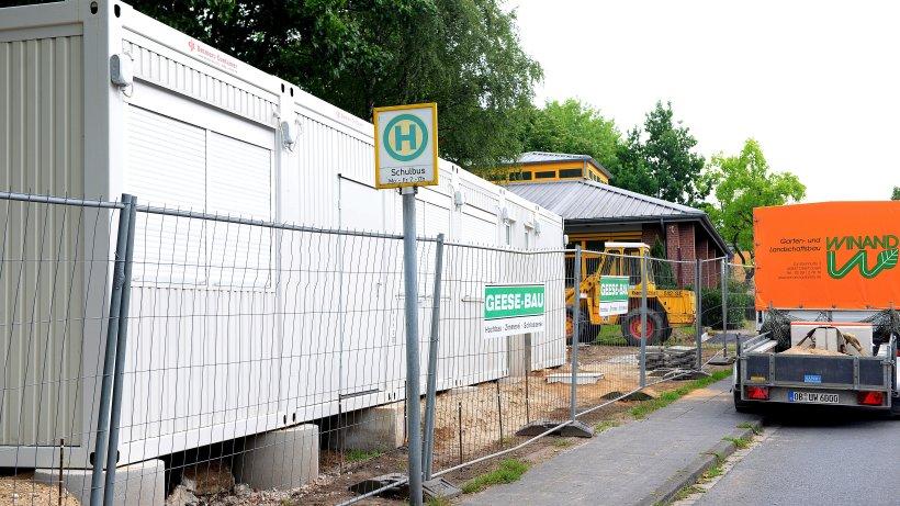 Container soll platzproblem der robert koch schule l sen for Koch oberhausen
