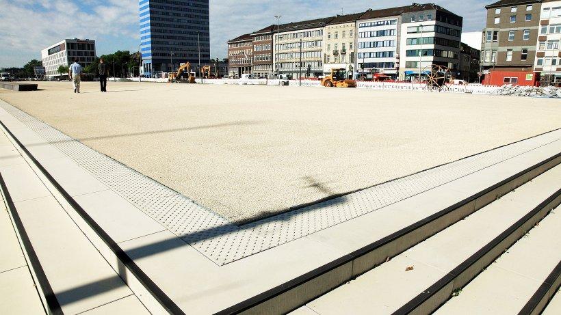 portsmouthplatz in duisburg wird im september frei gegeben duisburg. Black Bedroom Furniture Sets. Home Design Ideas