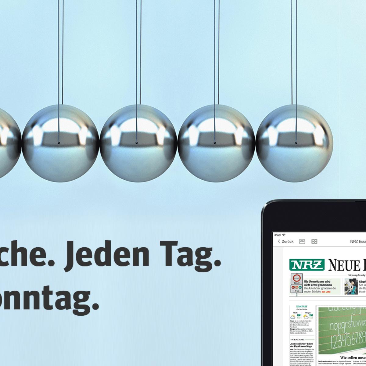 Mit der Digitalen Zeitung der NRZ flexibel und informiert   waz.de