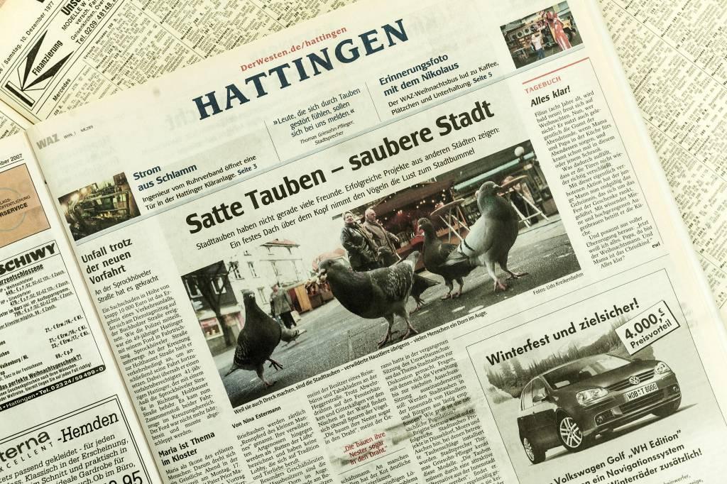 Neuer Anlauf für ein Taubenhaus in Hattingen | waz.de | Hattingen