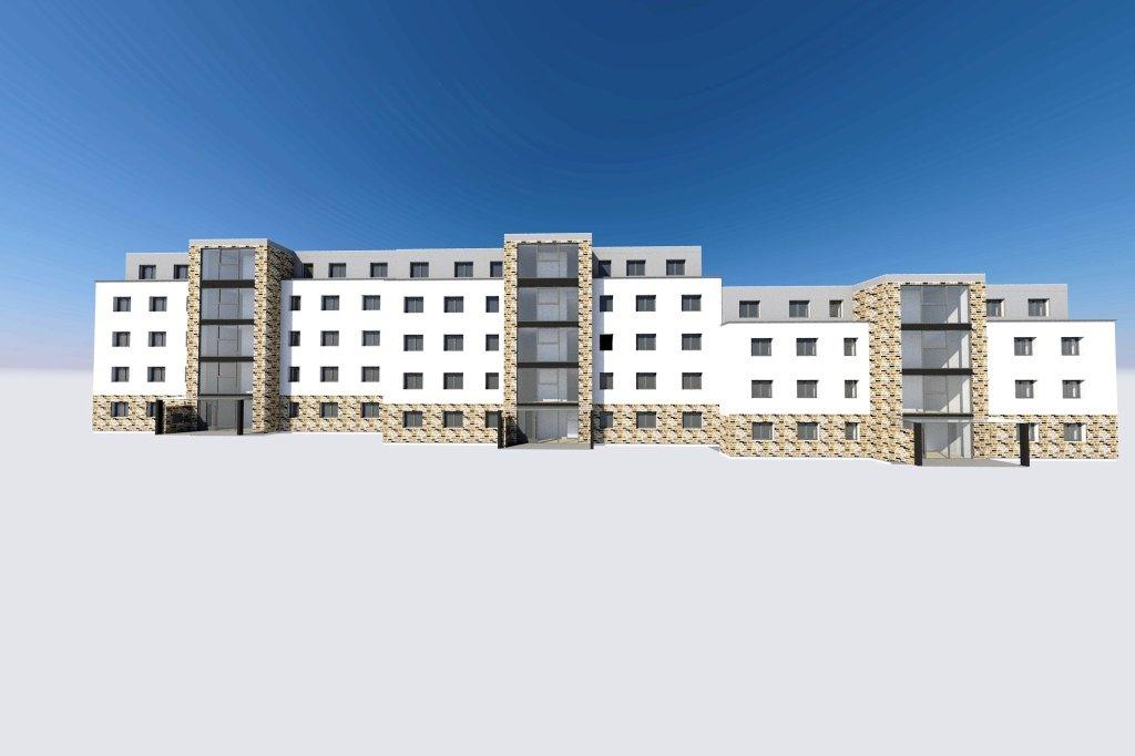 Häuserbau Bochum 39 neue wohnungen in drei häusern entstehen an marienstraße waz de