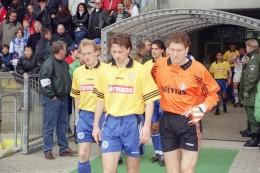 Schalke-Historie: Als Schalke in Karlsruher Trikots spielen musste