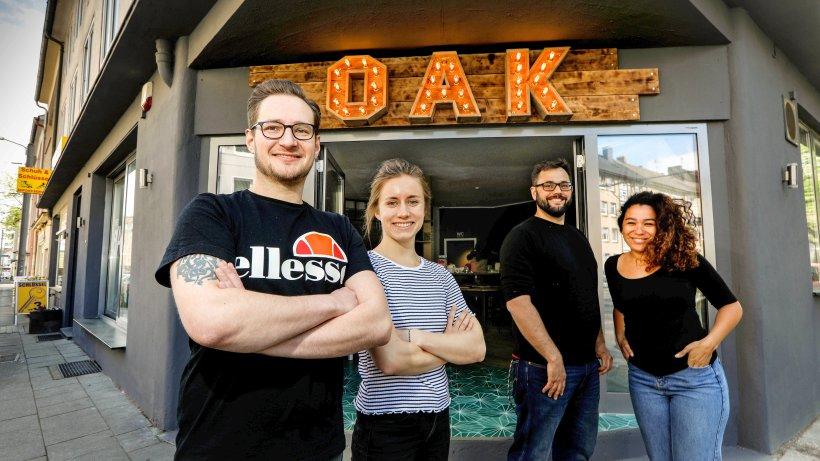 the oak restaurant im s dviertel serviert streetfood essen. Black Bedroom Furniture Sets. Home Design Ideas