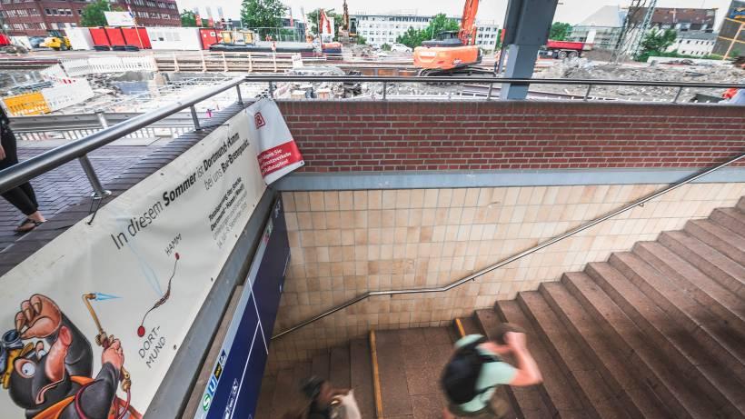 Bahn Saniert 47 Bahnhöfe Der Region Start Am Hbf Dortmund Wazde