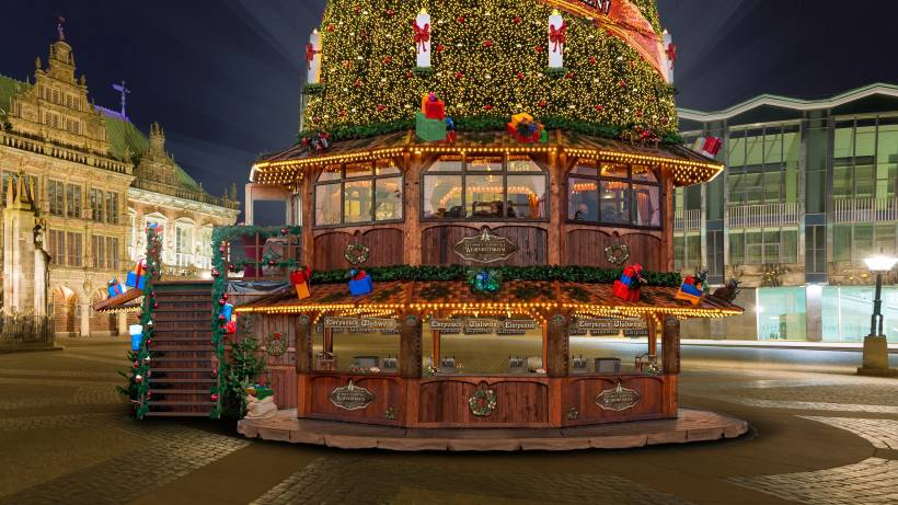 Größter Tannenbaum Deutschlands.Herne Erhält Größten Mobilen Weihnachtsbaum Der Welt Waz De