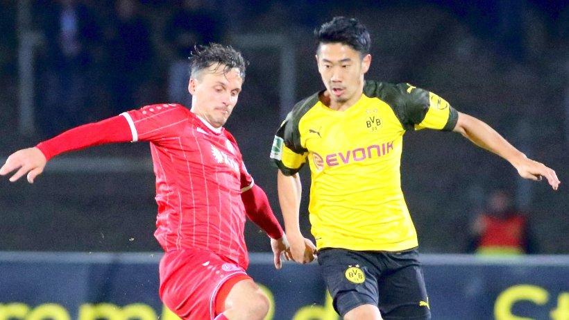 Regionalliga: BVB-II-Trainer Siewert rechtfertigt Einsätze von Kagawa und Co. gegen RWE
