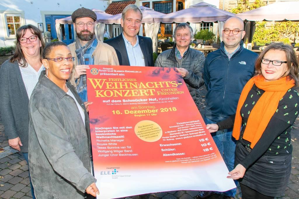 Rotary Club lädt zu Benefizkonzert auf dem Schmücker Hof ein   waz ...