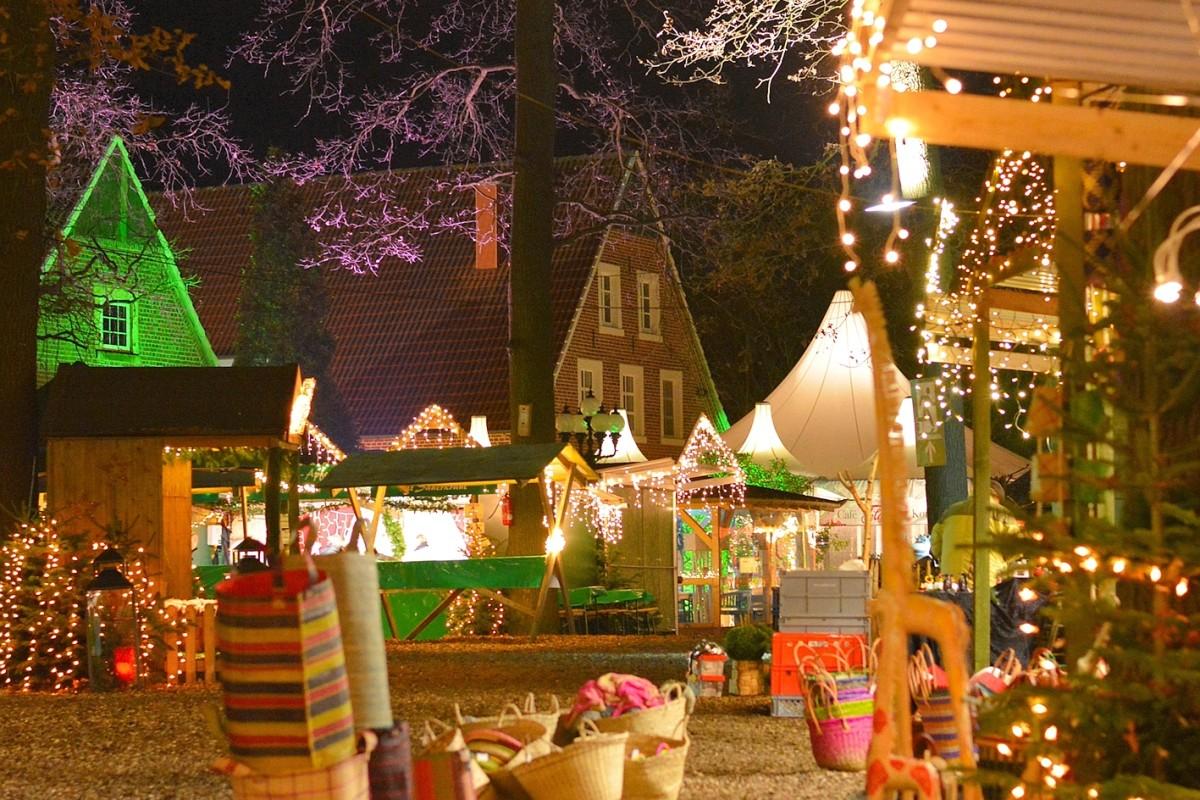 Velen Der Weihnachtsmarkt Mit Ganz Besonderer Atmosphare