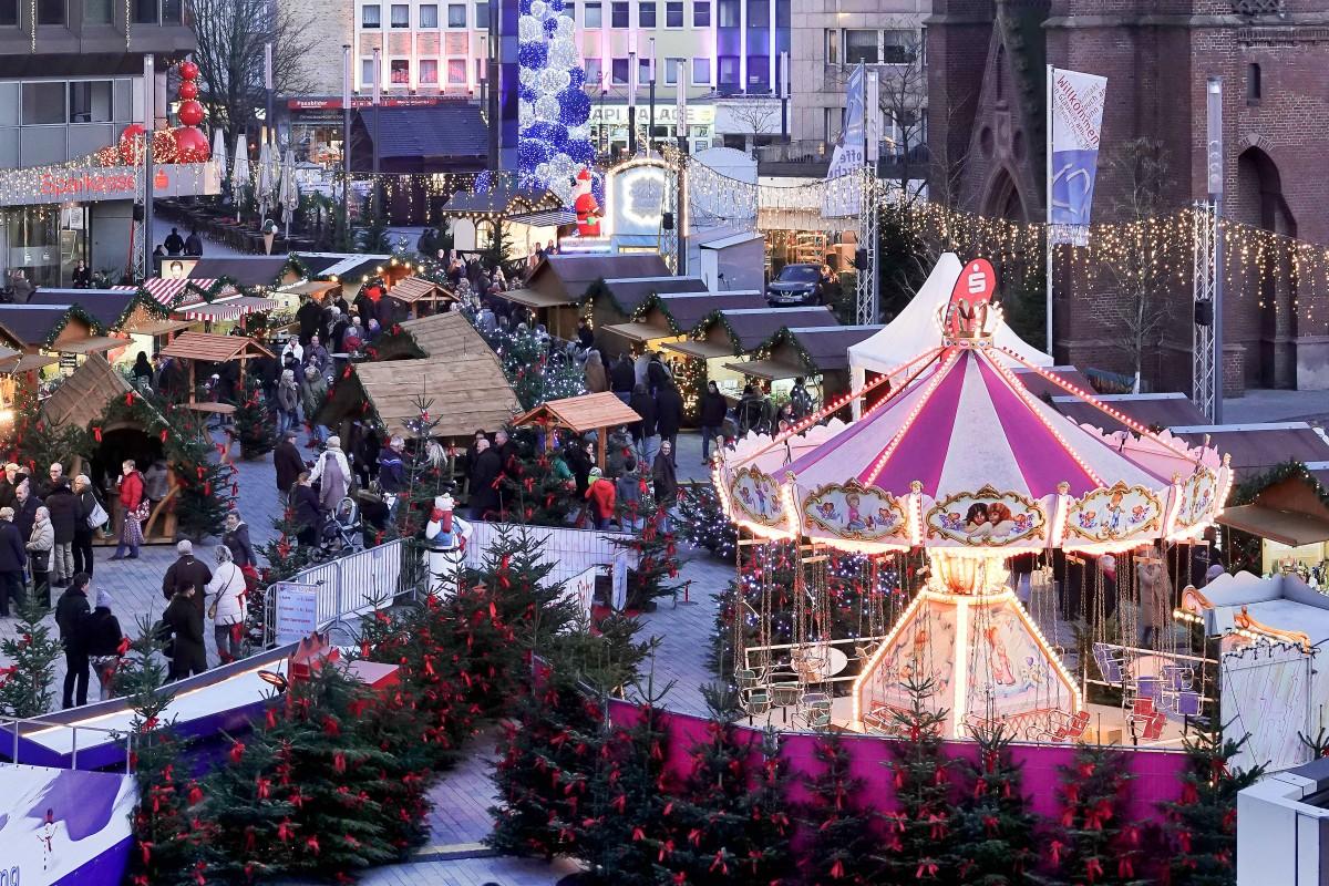 Pinker Weihnachtsmarkt.Gelsenkirchen Ist Deutschlands Unpopularster Weihnachtsmarkt