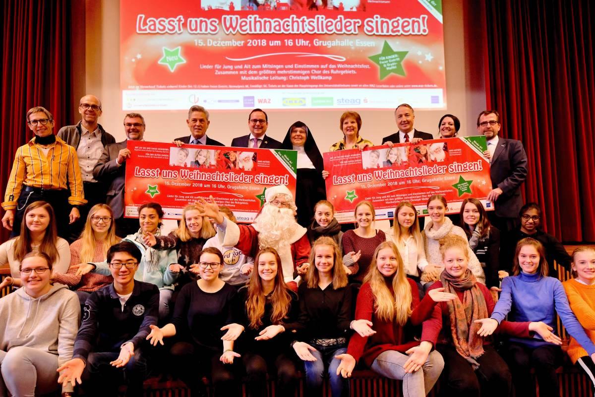 Weihnachtslieder Zum Singen.Weihnachtslieder In Der Grugahalle Tausende Sänger Erwartet Waz