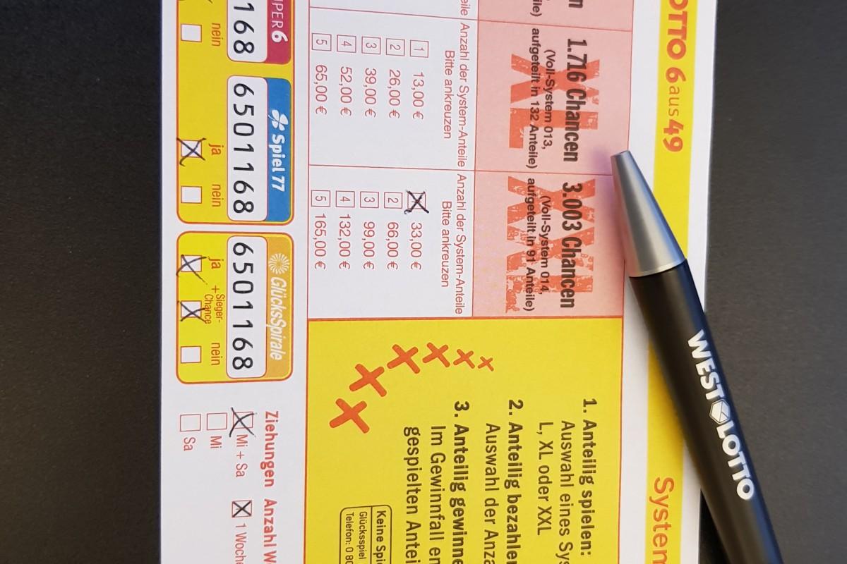 Lotto Voll Oder Teilsystem