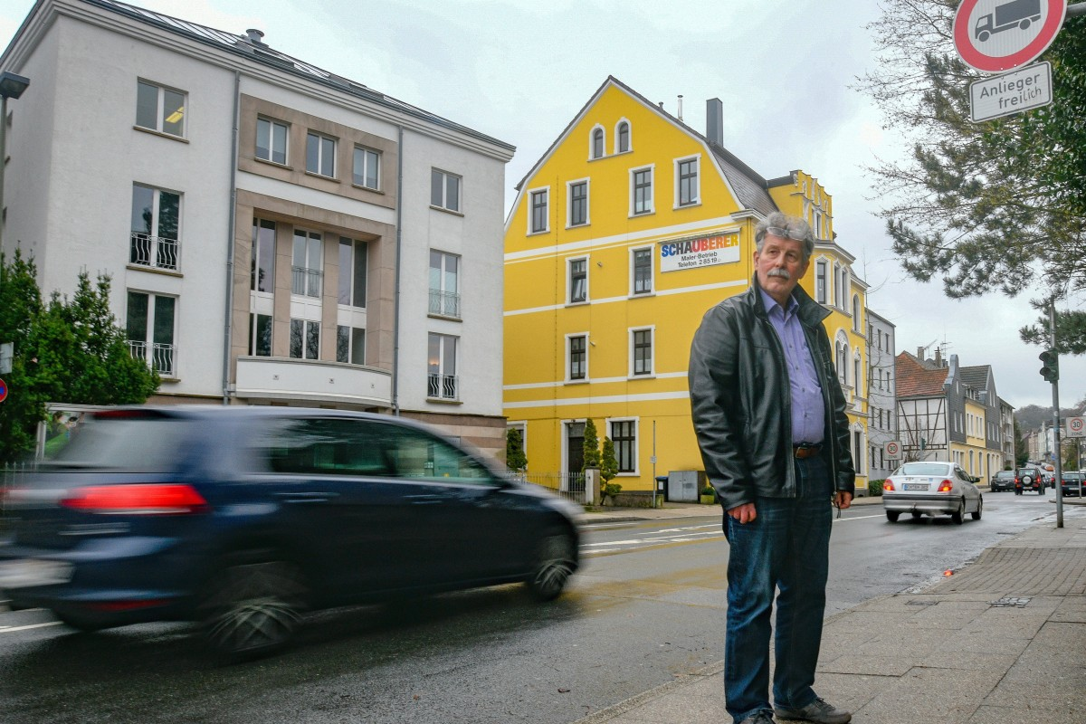 Bürger wollen Lkw-Verkehr in der Hattinger Südstadt stoppen