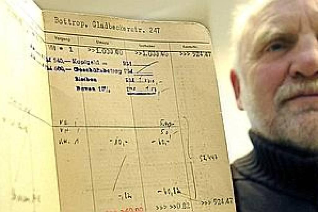 1000 Reichsmark auf dem Spar-Konto | waz.de | Bottrop