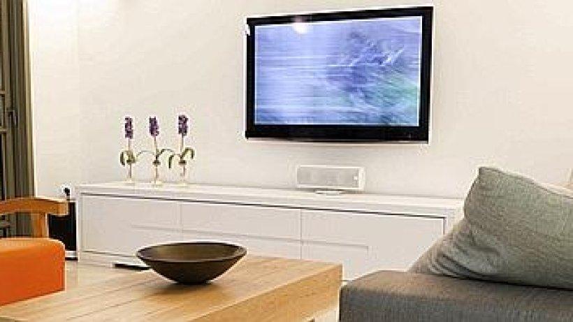 Plasmafernseher das gewitter im wohnzimmer for Wohnzimmer gelsenkirchen