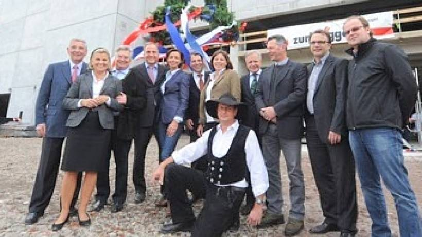Möbelhaus Zurbrüggen Feiert Richtfest Wazde Herne Wanne Eickel