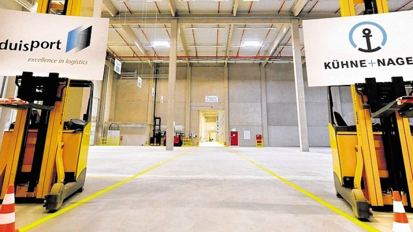 Logistik-Unternehmen Ku00fchne + Nagel Eru00f6ffnet Neubau Am Duisburger Hafen | Duisburg | WAZ.de