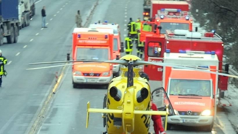 Unfall An Der B 224a 52 In Gladbeck Ging Noch Glimpflich Aus