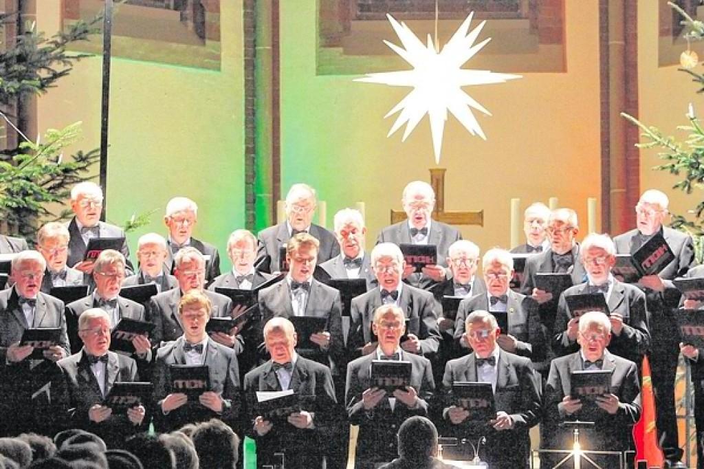 Weihnachtskekse Swing.Adventskonzert Der Cäcilia Chöre Ein Publikumsmagnet Waz De
