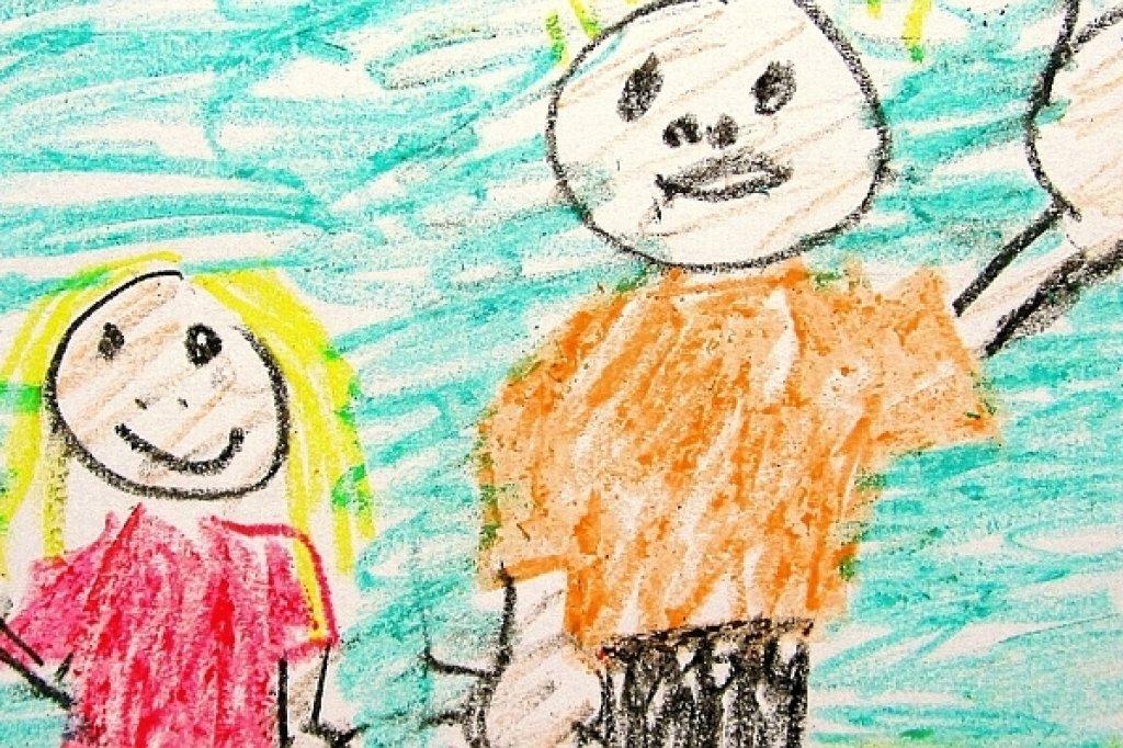 Gemalte Kinderbilder bilder als schlüssel zur leidenden kinderseele waz de gladbeck