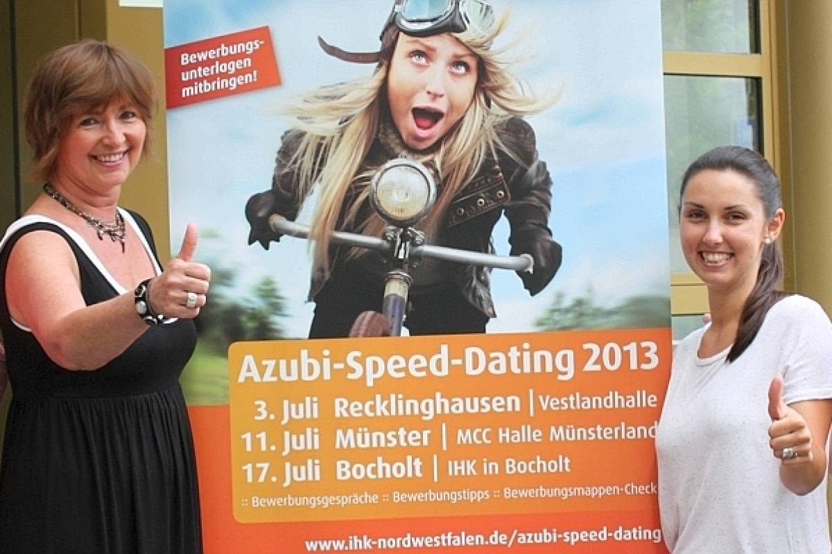 Azubi Speed Dating Münster 2013 darmowe randki flirtowe