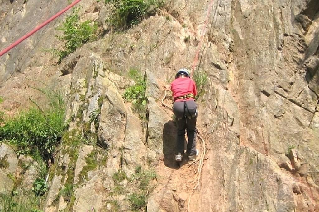 Kletterausrüstung Was Gehört Dazu : Mut und anstrengung werden beim klettern belohnt waz.de niederrhein
