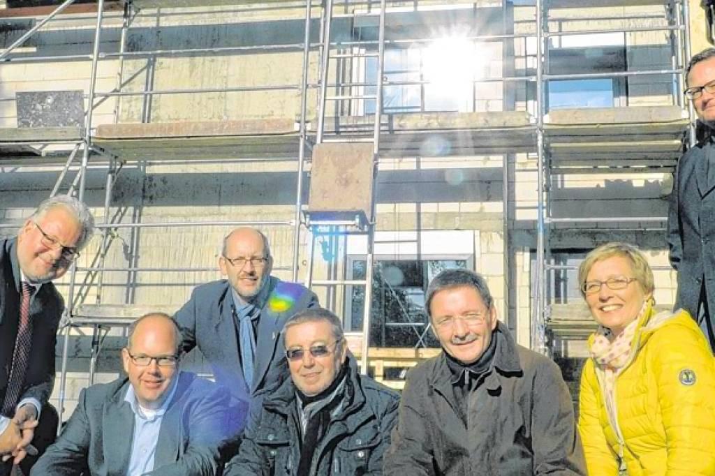 Der Rohbau Steht Hospiz Feiert Richtfest Wazde Bottrop